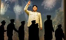 Inaguração do Museu da Vitória na Guerra Pátria em Pyongyang, julho de 2013