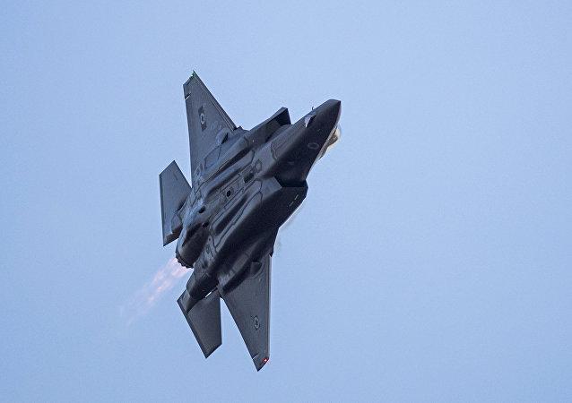 F-35 da Força Aérea israelense, foto de arquivo
