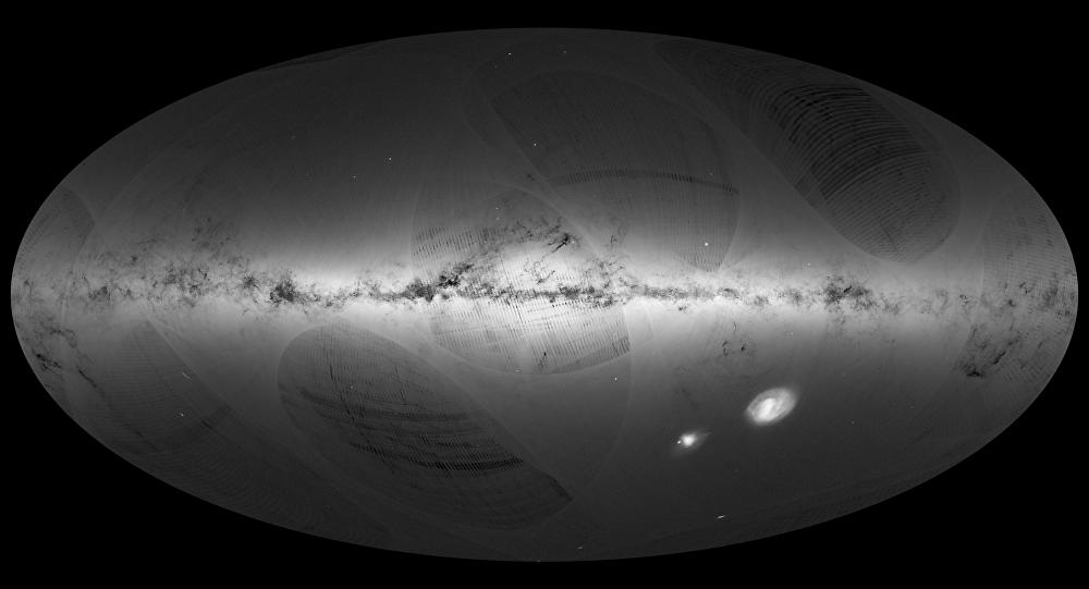 O primeiro catálogo possuidor de mais de um bilhão de estrelas da Via Láctea