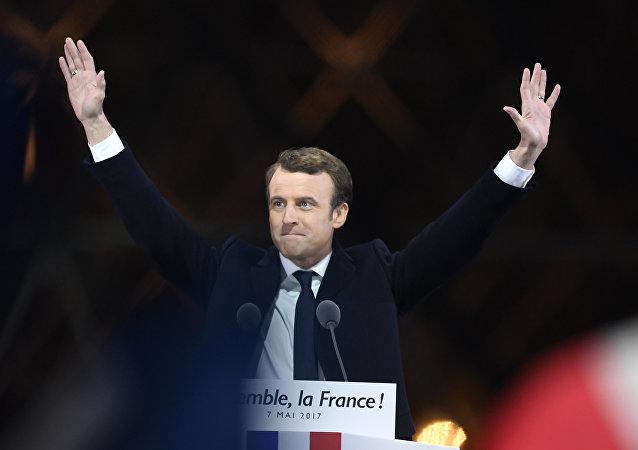 Presidente Emmanuel Macron