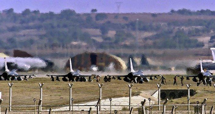 A base militar Incirlik, na província turca de Adana