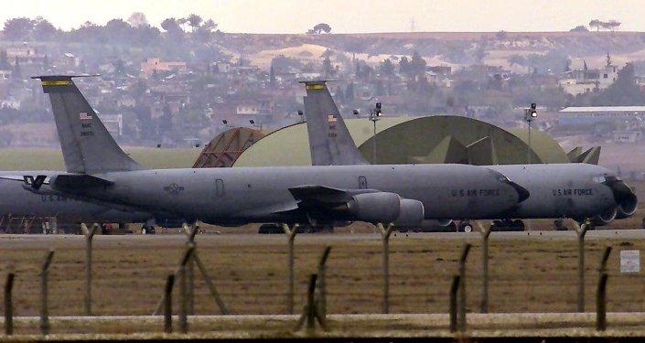 A base militar Incirlik, na província turca de Adana.