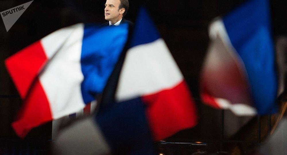 Emmanuel Macron, recém-eleito presidente da França