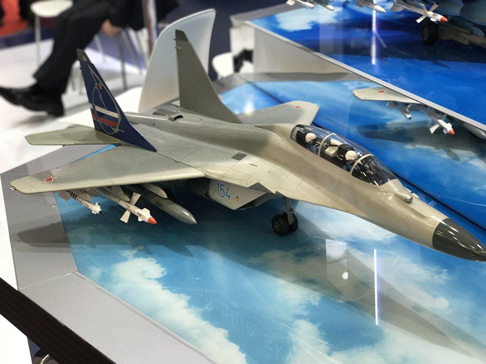 Maqueta de avião russo