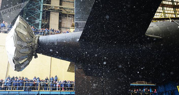 Novo submarino nuclear russo - Kazan