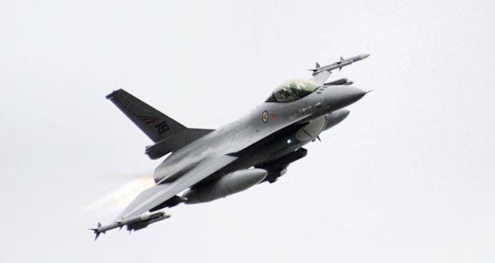 Caça F-16 da Força Aérea da Noruega