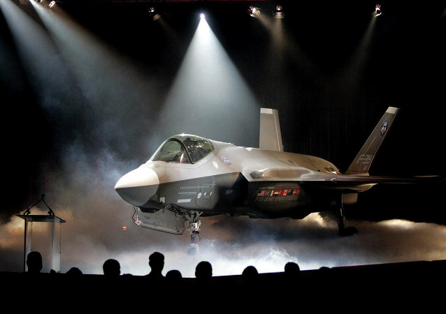 Caça Lockheed Martin F-35 da Força Aérea dos EUA