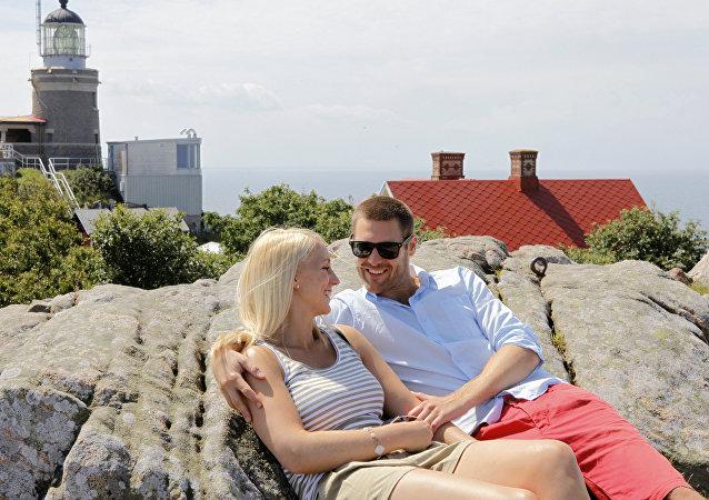 Um casal sueco (foto ilustrativa)