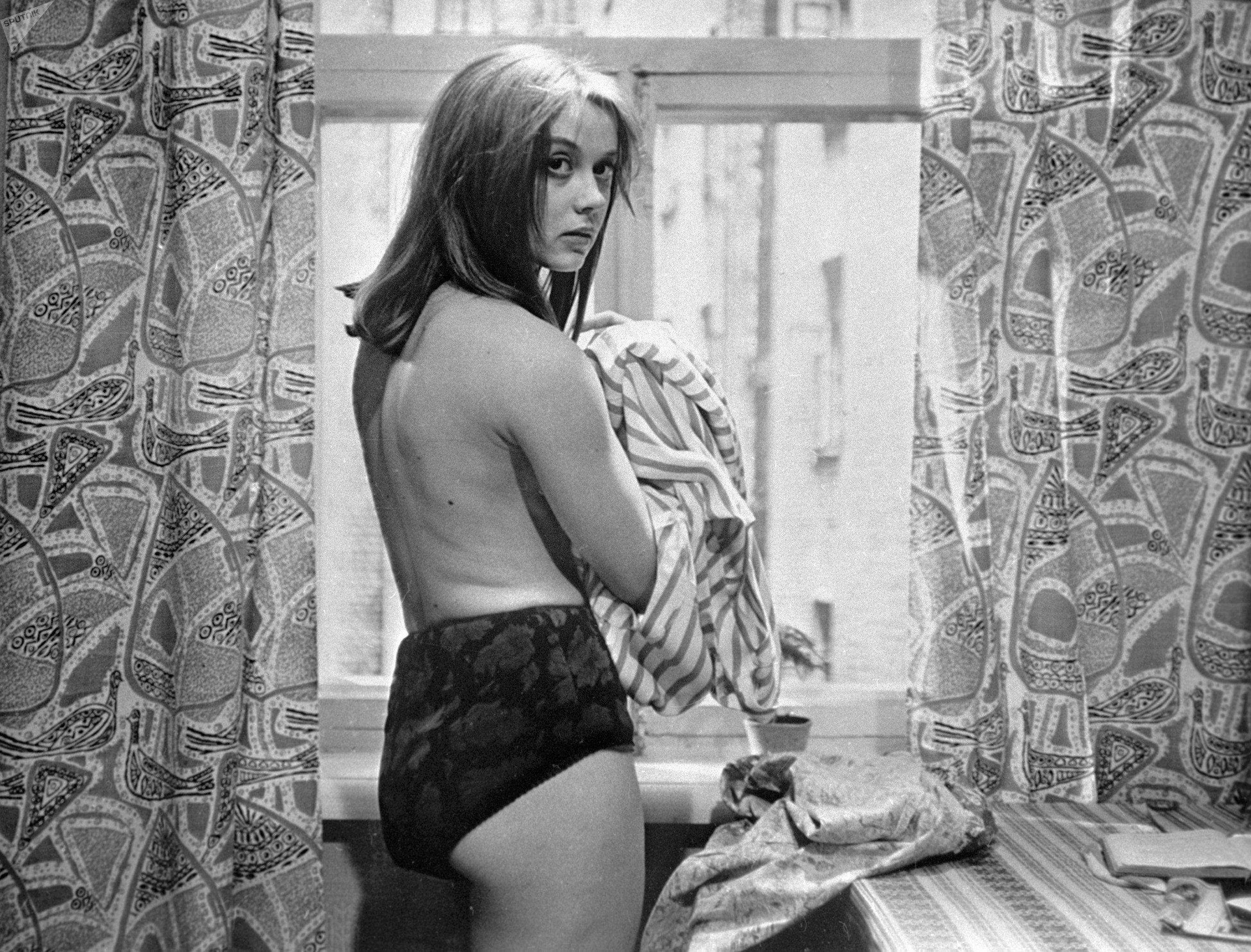 Atriz soviética Margarita Terekhova (arquivo)