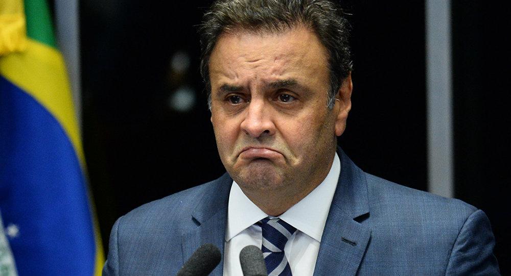 Senadores votam nesta terça-feira se Aécio Neves (PSDB-MG) seguirá afastado da Casa, como decidiu o Supremo Tribunal Federal