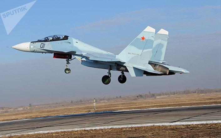 Caça russo Su-30