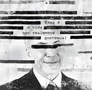 Roger Waters posta foto de Temer
