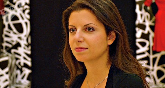 Margarita Simonyan, editora-chefe da agência Sputnik
