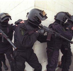 Unidade de elite antiterrorista Alfa do Serviço Federal de Segurança da Rússia (FSB)