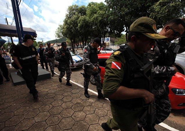 Equipes da Secretaria de Segurança do Pará voltam à Fazenda Santa Lúcia