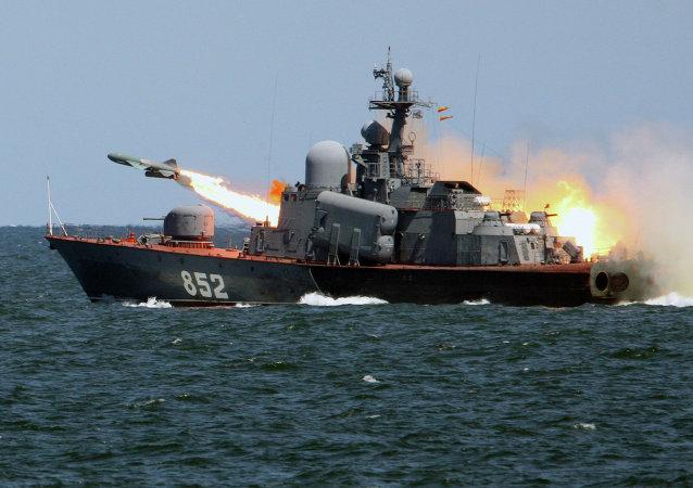 Exercícios táticos da Frota do Báltico