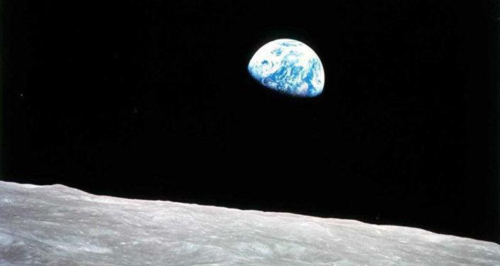 A Terra vista a partir da Lua (arquivo)