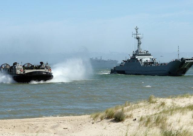 Manobras navais da Aliança Atlântica na Polônia e Países Bálticos BALTOPS