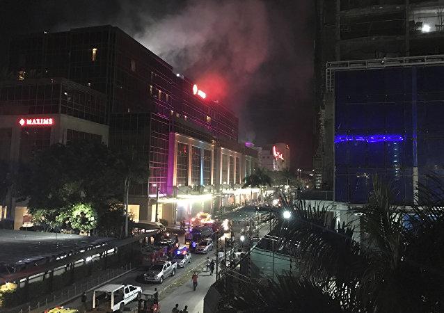 Hotel de luxo é alvo de ataque nas Filipinas