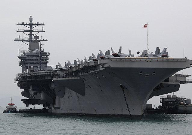 USS Nimitz, foto de arquivo