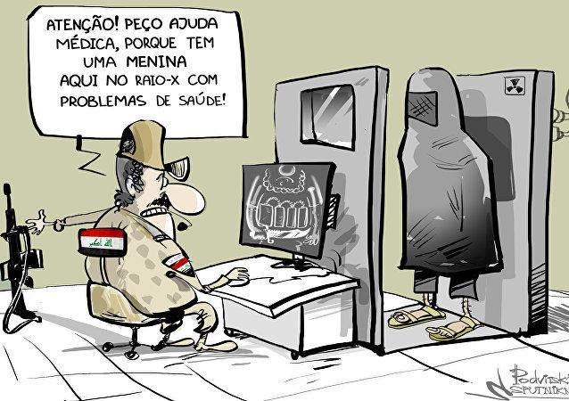 Roupas 'bombásticas' de terroristas