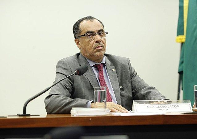 Deputado federal Celso Jacob, preso nesta terça-feira, 6 de junho de 2017, em Brasília