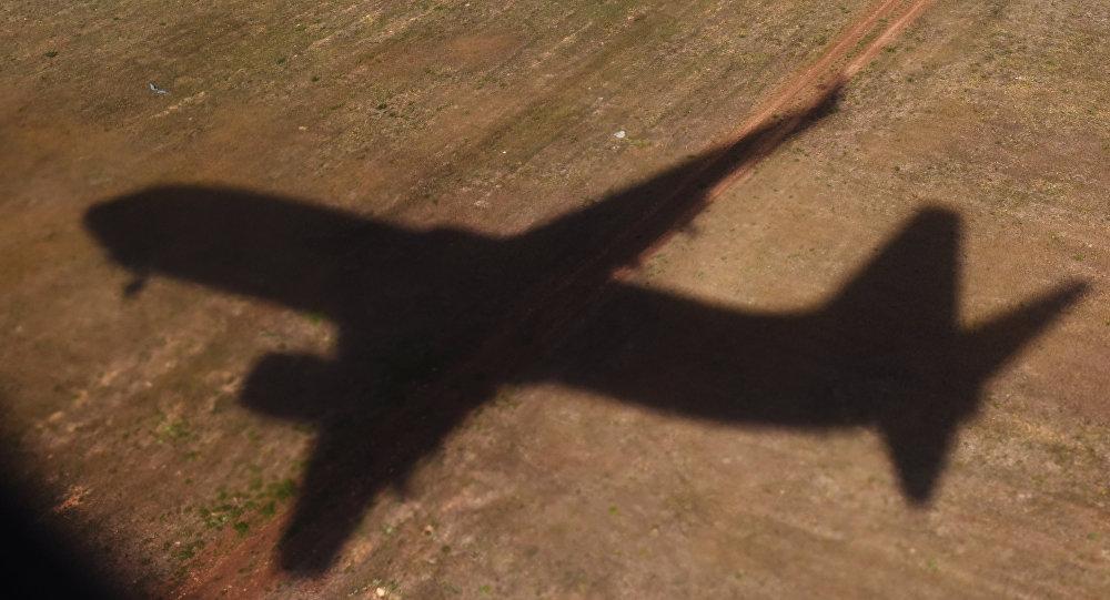 A sombra de um avião (Arquivo)