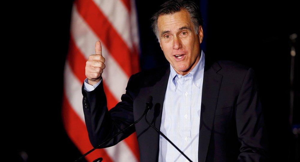 Trump se reunirá com Mitt Romney, possível secretário de Estado (imprensa)