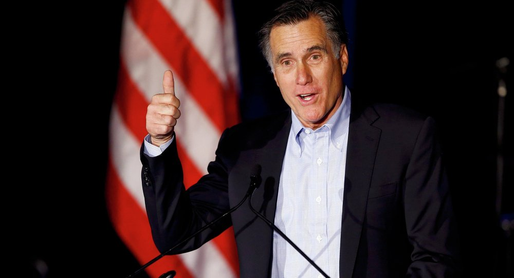 O ex-candidato presidencial Mitt Romney
