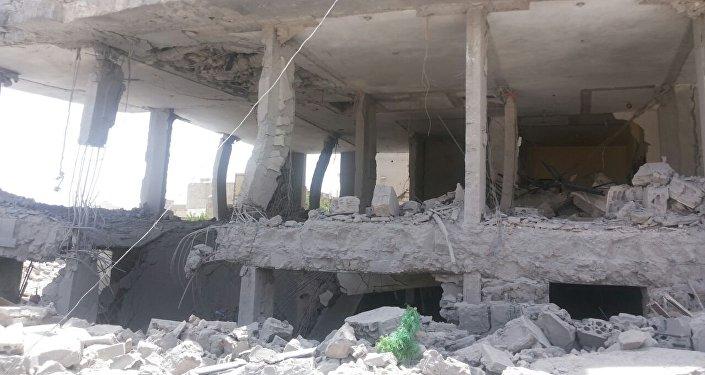 Consequências do bombardeio
