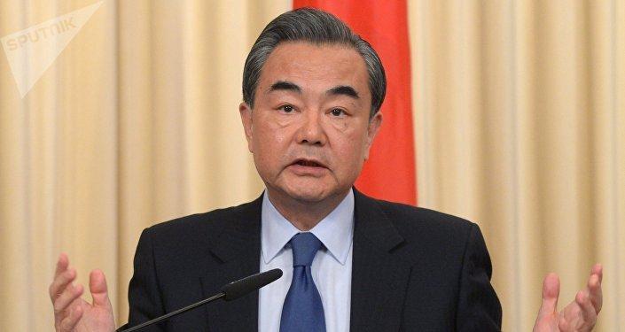 Ministro das Relações Exteriores da China, Wang Yi (arquivo)