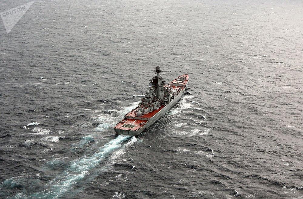 Cruzador nuclear pesado russo Pyotr Veliky