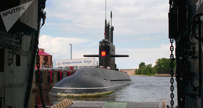 Sumbarino Sankt-Peterburg, da classe Lada (arquivo)