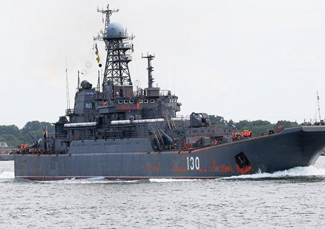 Navio pesado de desembarque russo Korolev