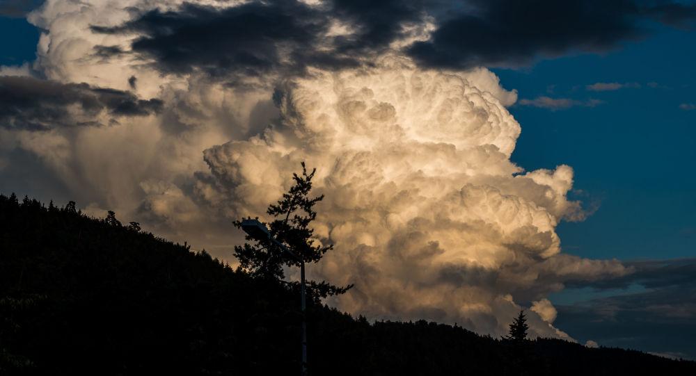 Nuvens gigantescas