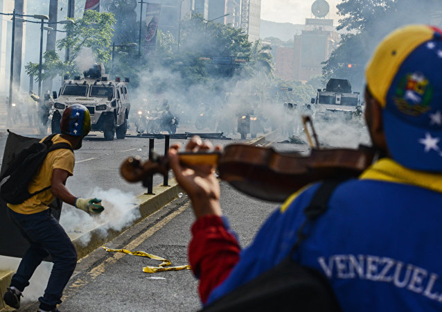 As duas faces da violência na Venezuela