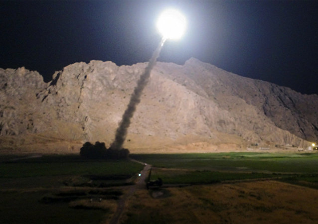 O ataque do Irã contra os terroristas na província síria de Deir ez-Zor