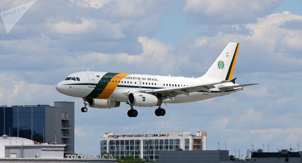 A visita do presidente brasileiro, Michel Temer, a Moscou