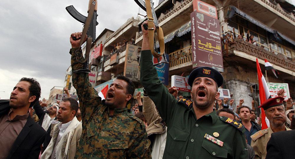 Membros das forças de segurança iemenitas se mostram leais aos houthis