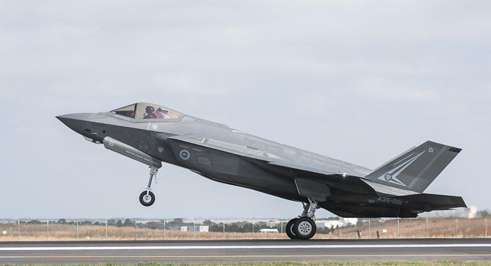 Caça F-35 da Força Aérea da Austrália (foto de arquivo)