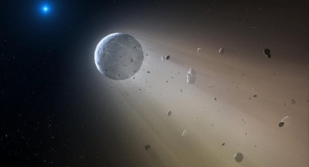 Asteroide (ilustração)