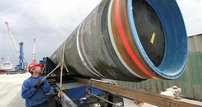 Construção do gasoduto Nord Stream