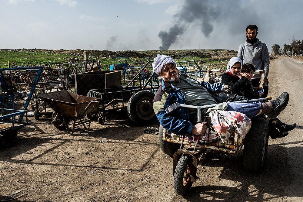 A operação em Mossul, Iraque, do fotojornalista italiano Alessandro Rota