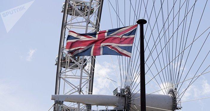 A roda-gigante London Eye