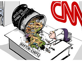 Lixo midiático à norte-americana