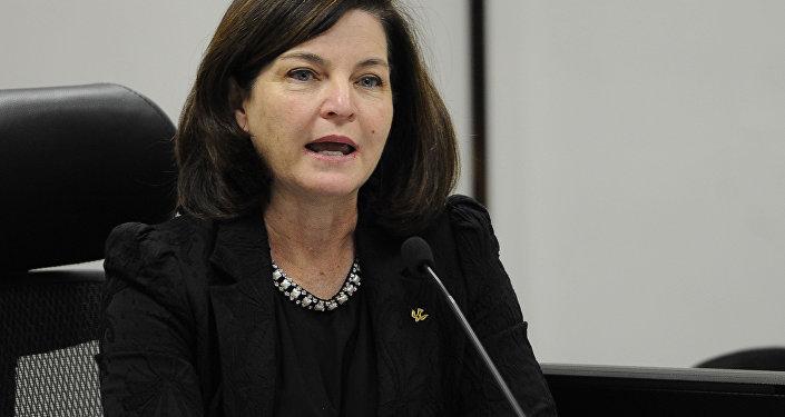 Raquel Elias Dodge, subprocuradora-geral da República, escolhida pelo presidente Michel Temer para substituir Rodrigo Janot no comando da PGR