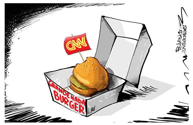 O big fake do CNN