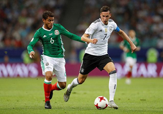 Alemanha derrotou o México por 4 a 1 pela semifinal da Copa das Confederações de 2017