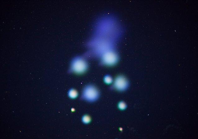NASA ilumina céu norte-americano com cores (VÍDEO)