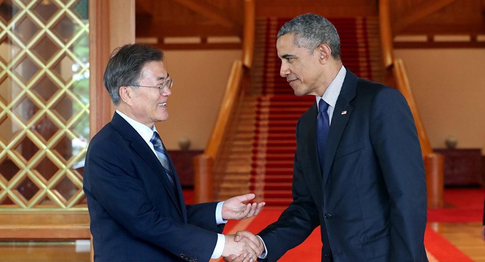 Obama e Moon Jae-in